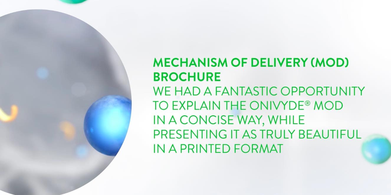 Onivyde Mechanism of Delivery Brochure